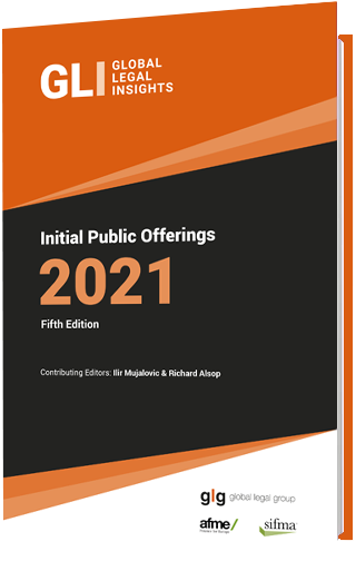 Global Legal Insights to: Initial Public Offerings 2021
