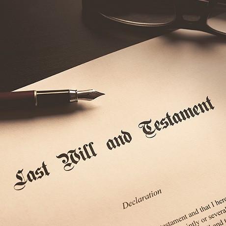 遗嘱、遗产处理及信托
